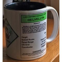 Peaks in Profile Helvellyn Monopoly Mug