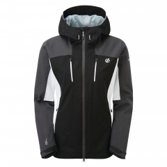 Dare2b Ladies Immense Jacket Black/Ebony Grey