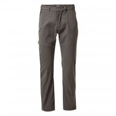 Craghoppers Mens Kiwi Pro II Stretch Trousers Dark Lead