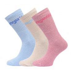 Regatta Ladies 3 Pack Casual Sock