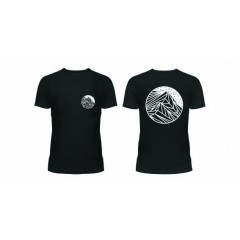 GYOW Ladies Helvellyn Graphic Tee Black