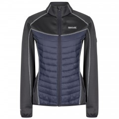 Regatta Ladies Bestla Hybrid Jacket Black/Seal Grey
