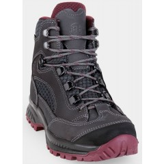 Hanwag Ladies Banks II GTX Wide Asphalt/Dark Garnet