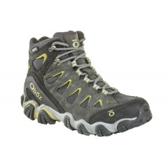 Oboz Mens Sawtooth II Mid BDry Dark Shadow/Woodbine Green