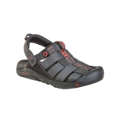 Oboz Mens Campster Sandals Dark Shadow/Russet