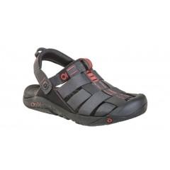 Oboz Mens Campster Sandals Dark Shadow/Russet