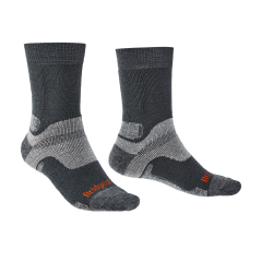 Bridgedale Mens Hike Midweight Endurance Boot Sock Gunmetal