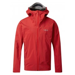 Rab Mens Meridian GTX Jacket Ascent Red