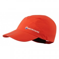 Montane Minimus Stretch Waterproof Cap Flag Red