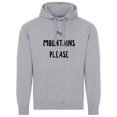 Ascendancy Apparel Mountains Please Hoody Light Grey