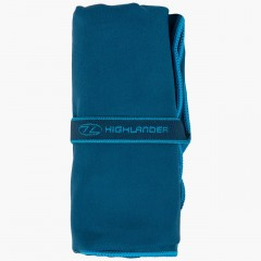 Highlander Lightweight Soft Towel Navy Large