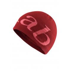 Rab Logo Beanie Crimson