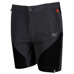 Regatta Kids Sorcer Mountain Shorts Seal Grey/Black