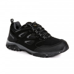 Regatta Mens Holcombe Low Waterproof Walking Shoe Black/Granite