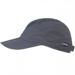 Regatta Folding Peak Cap Seal Grey
