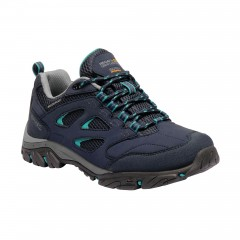 Regatta Ladies Holcombe Low Waterproof Walking Shoe Navy/Atlantic