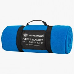Highlander Fleece Blanket Blue