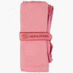 Highlander Lightweight Soft Towel Pink Large
