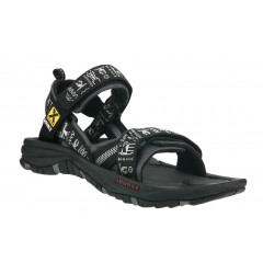 Source Mens Gobi Sandals Black