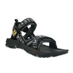 Source Mens Gobi Sandals INCA Black