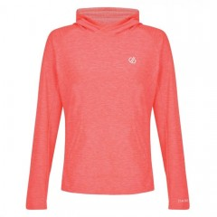 Dare2b Ladies Sprint City Hoody Fiery Coral