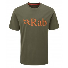 RAB MENS STANCE LOGO TEE ARMY