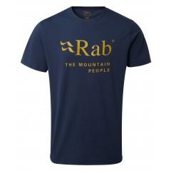 Rab Mens Stance Mountain Short Sleeve Tee Deep Ink