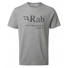 Rab Mens Stance Mountain Short Sleeve Tee Grey Marl