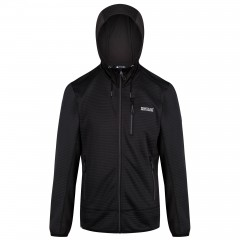Regatta Mens Tarnis Fleece Hoody Black