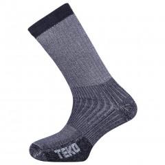 Teko Merino Mens Mid Hiking Sock Charcoal