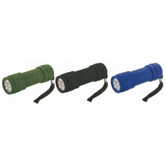 Highlander 9 LED Rubber Torch