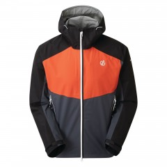 Dare2b Mens Touchpoint Jacket Trail Blaze/Ebony