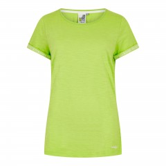 Weird Fish Ladies Trinity Tee Acid Lime