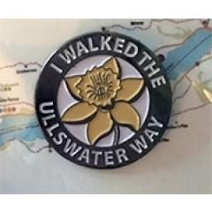 I Walked The Ullswater Way Pin Badge