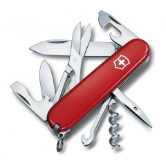 Victorinox Climber Swiss Army Knife Red