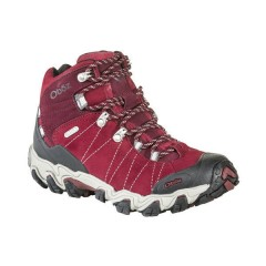 OBOZ LADIES WIDE FIT BRIDGER MID BDRY RIO RED