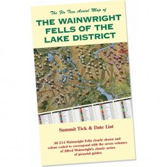 Wainwright Map & Tick List