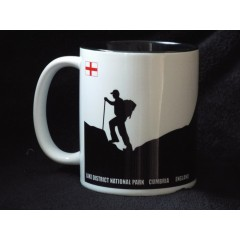 Peaks in Profile Helvellyn Walker Mug