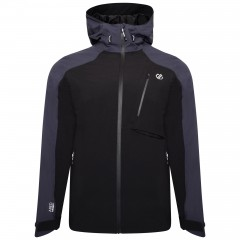 DARE2B MENS DILUENT JACKET BLACK/EBONY GREY