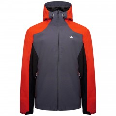 DARE2B MENS RECODE JACKET TRAIL BLAZE/EBONY GREY/BLACK