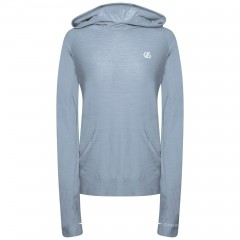 DARE2B LADIES SPRINT CITY HOODY CELESTIAL GREY MARL