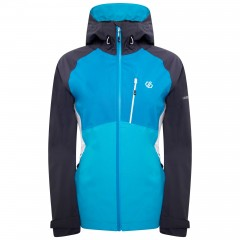 DARE2B LADIES VERITAS JACKET FRESHWATER BLUE/BLUE REEF/EBONY GREY