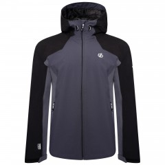 DARE2B LADIES COMPETE JACKET BLACK/DARK STORM/EBONY GREY