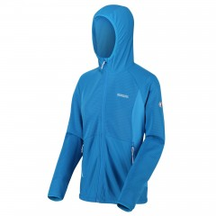 Ladies Terota Hooded Fleece Blue Aster