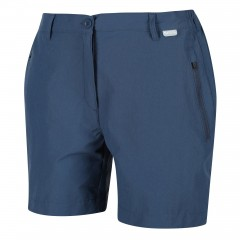 REGATTA LADIES HIGHTON MID SHORTS DARK DENIM