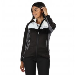 Regatta Ladies Yare Stretch Jacket Black/White