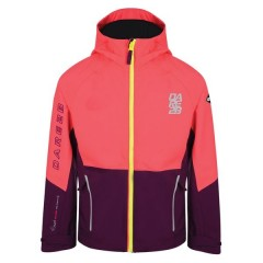 Dare2b Kids Modulate Jacket Pink/Blackcurrant