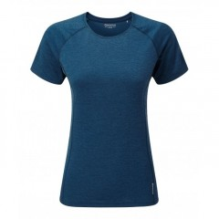 Montane Ladies Dart T-Shirt Narwhal Blue