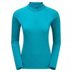 Montane Ladies Dart Zip Neck Blue Ridge
