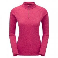 Montane Ladies Dart Zip Neck French Berry